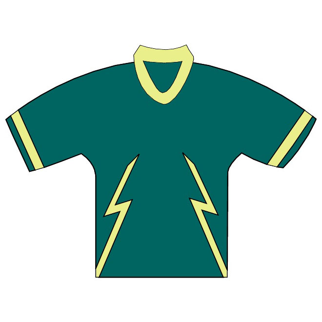 Hockey Jersey Template Free Vector