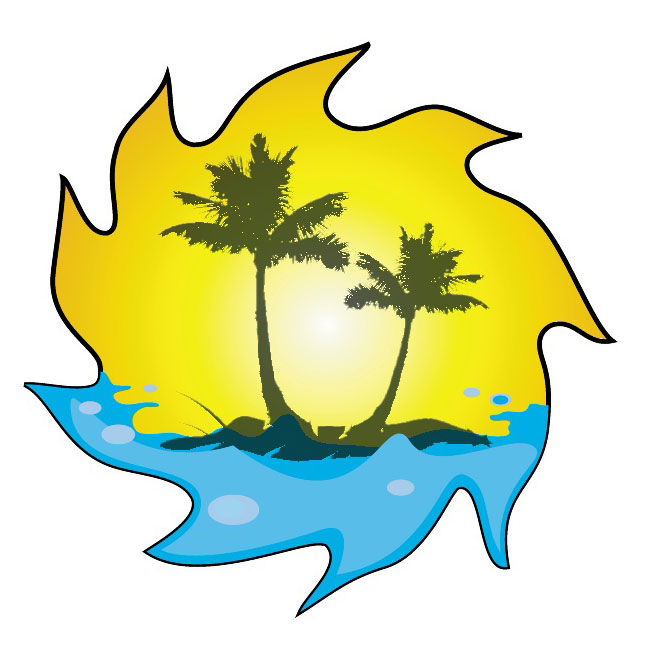 Palm Trees Image Free Vector