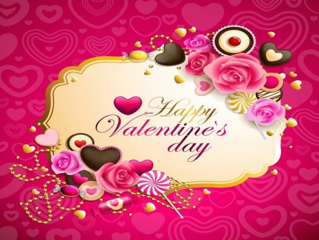Valentines Day 2018 Whatsapp DP 1024x768 - Happy Valentines day Gifs 2018 , Images, HD Wallpapers, Cover Photos