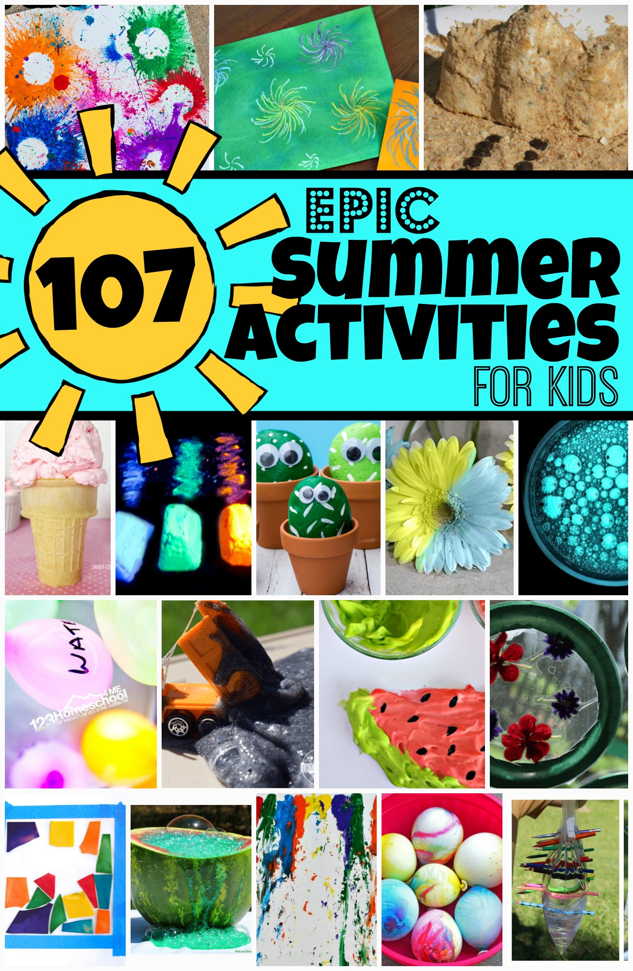 107 Epic Summer Activities For Kids To Add To Your