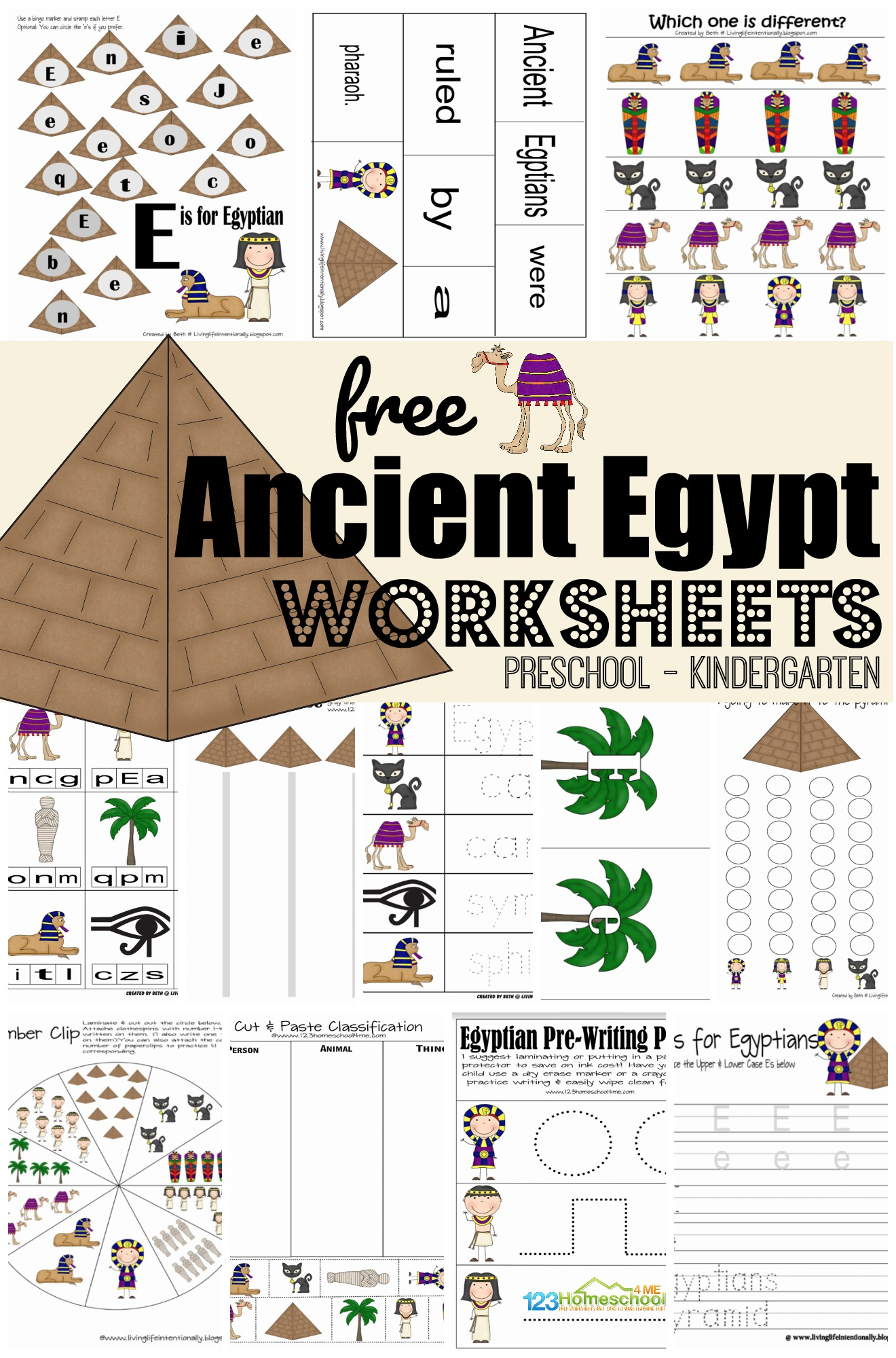 Ancient Egypt Free Printables