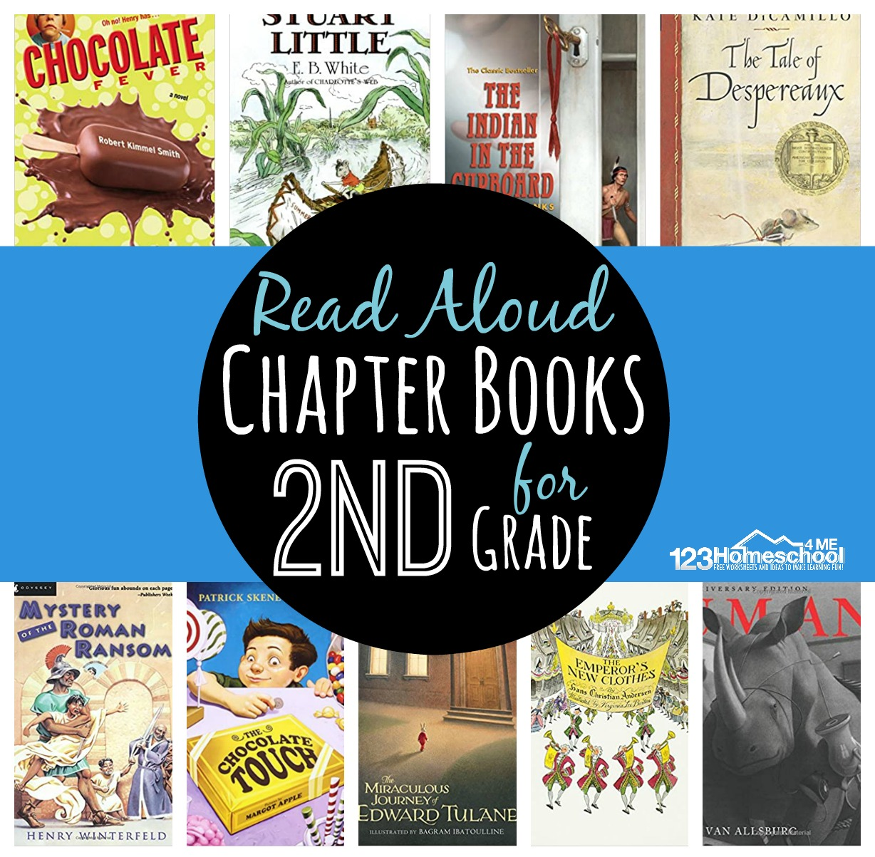 Read Aloud Chapter Books For 2nd Grade
