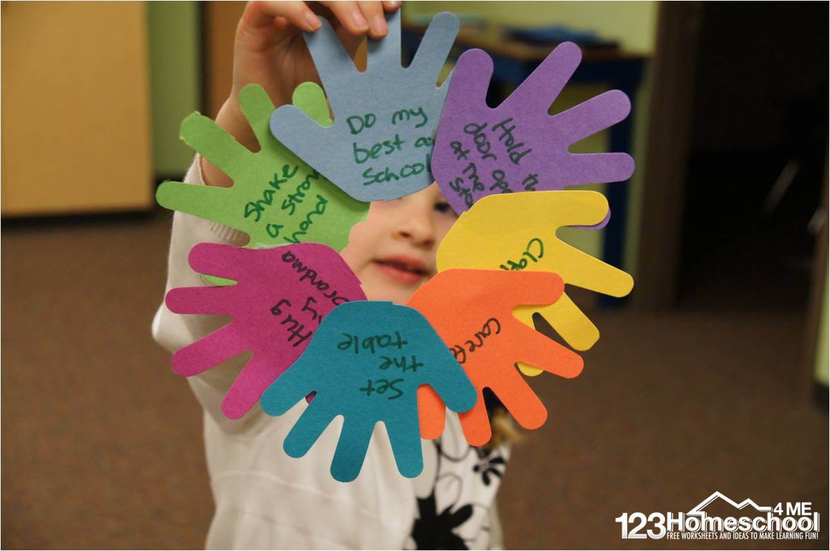 Helping Hands Worksheet
