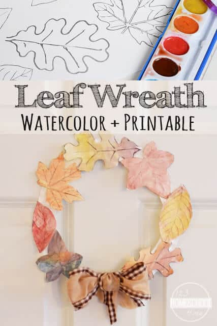 wreath template for kids # 39