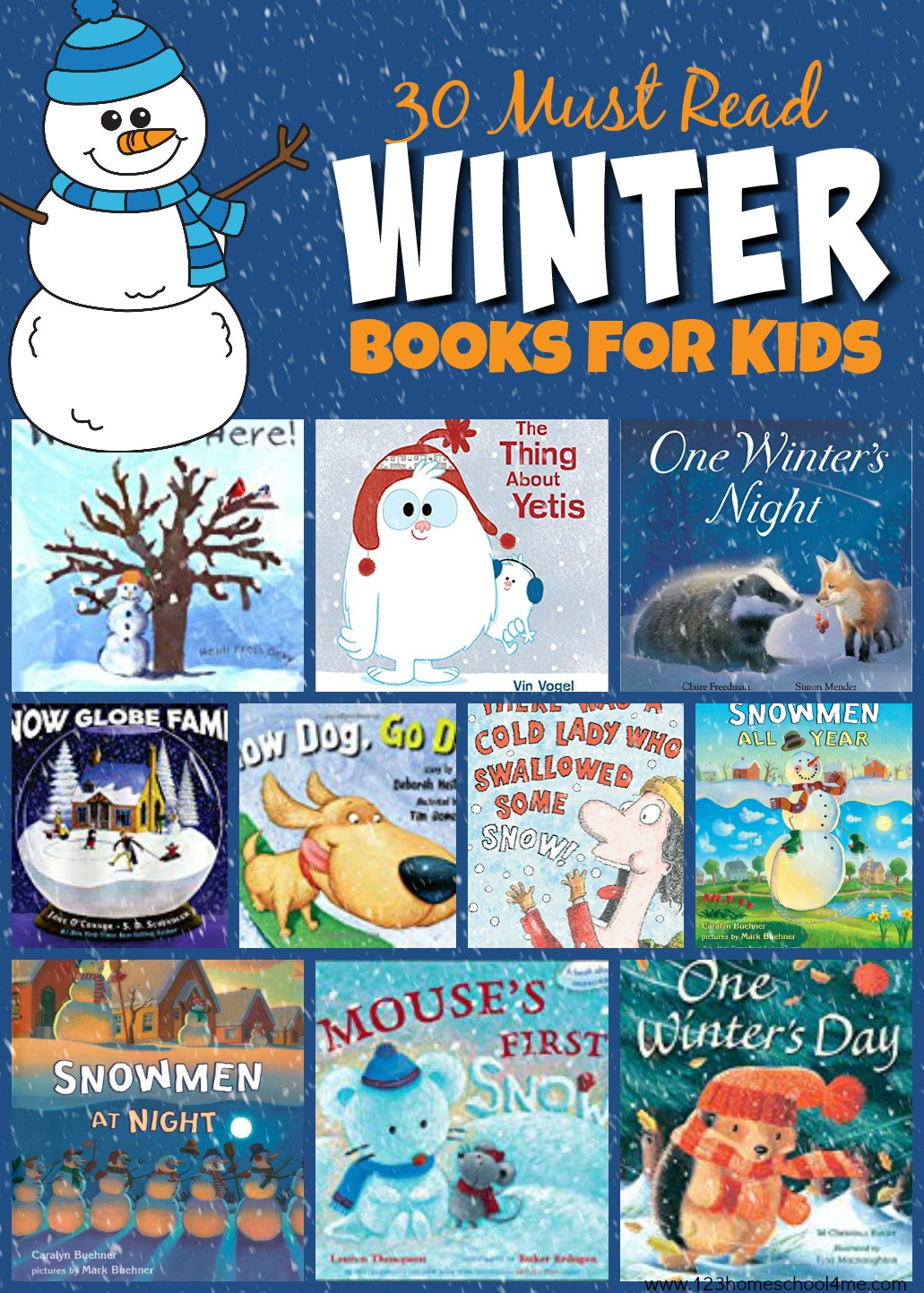 30 Must Read Winter Books for Kids
