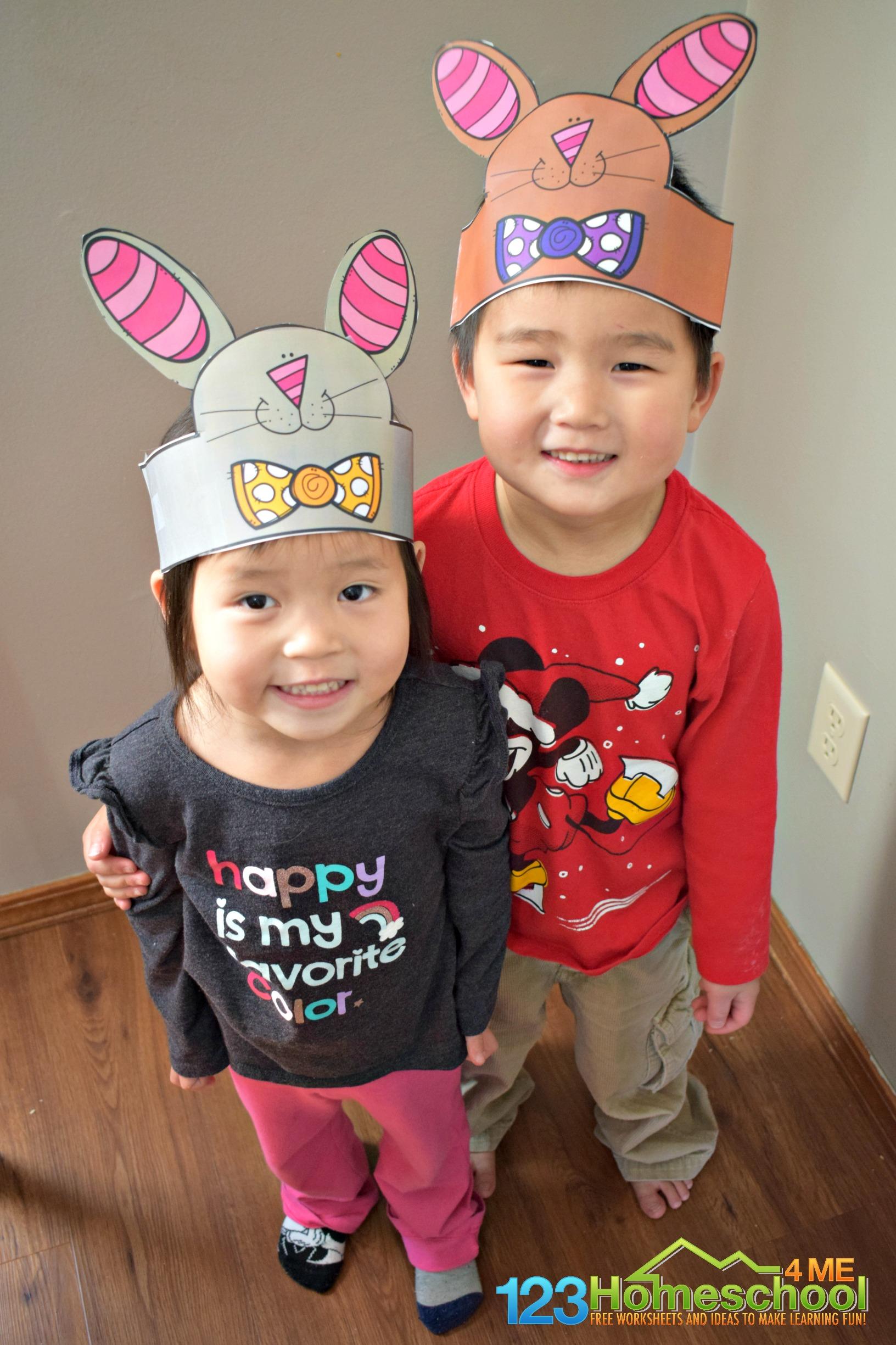 Free Printable Bunny Ear Hat