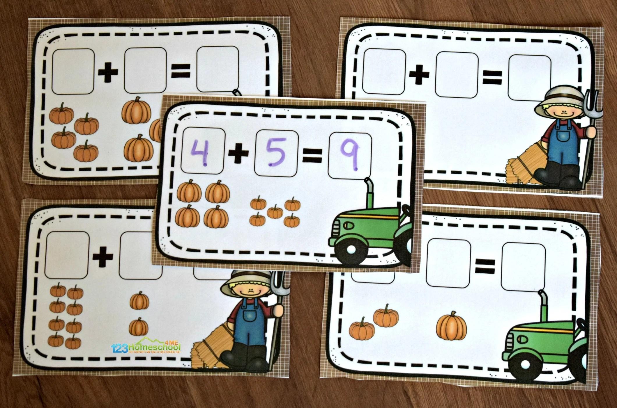 Pumpkin Math Activity