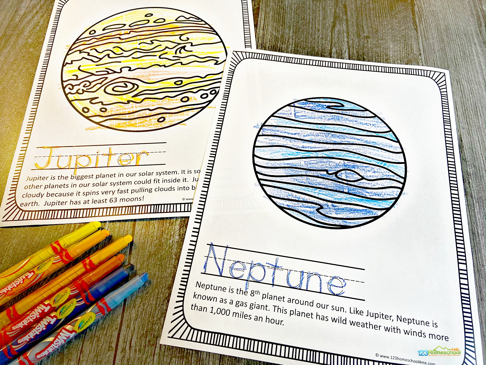 Free Solar System Coloring Pages
