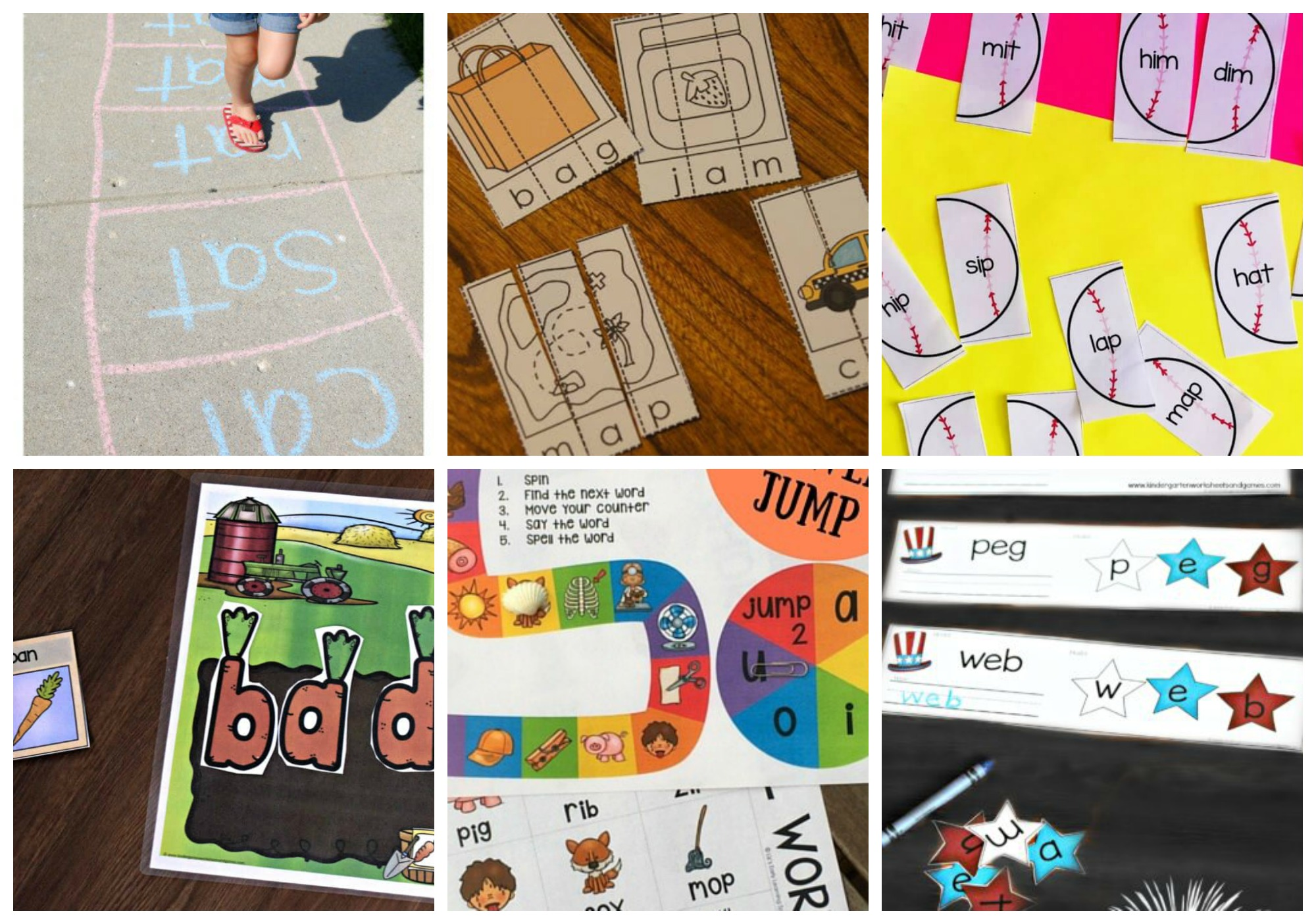 50 Fun Cvc Words Activities
