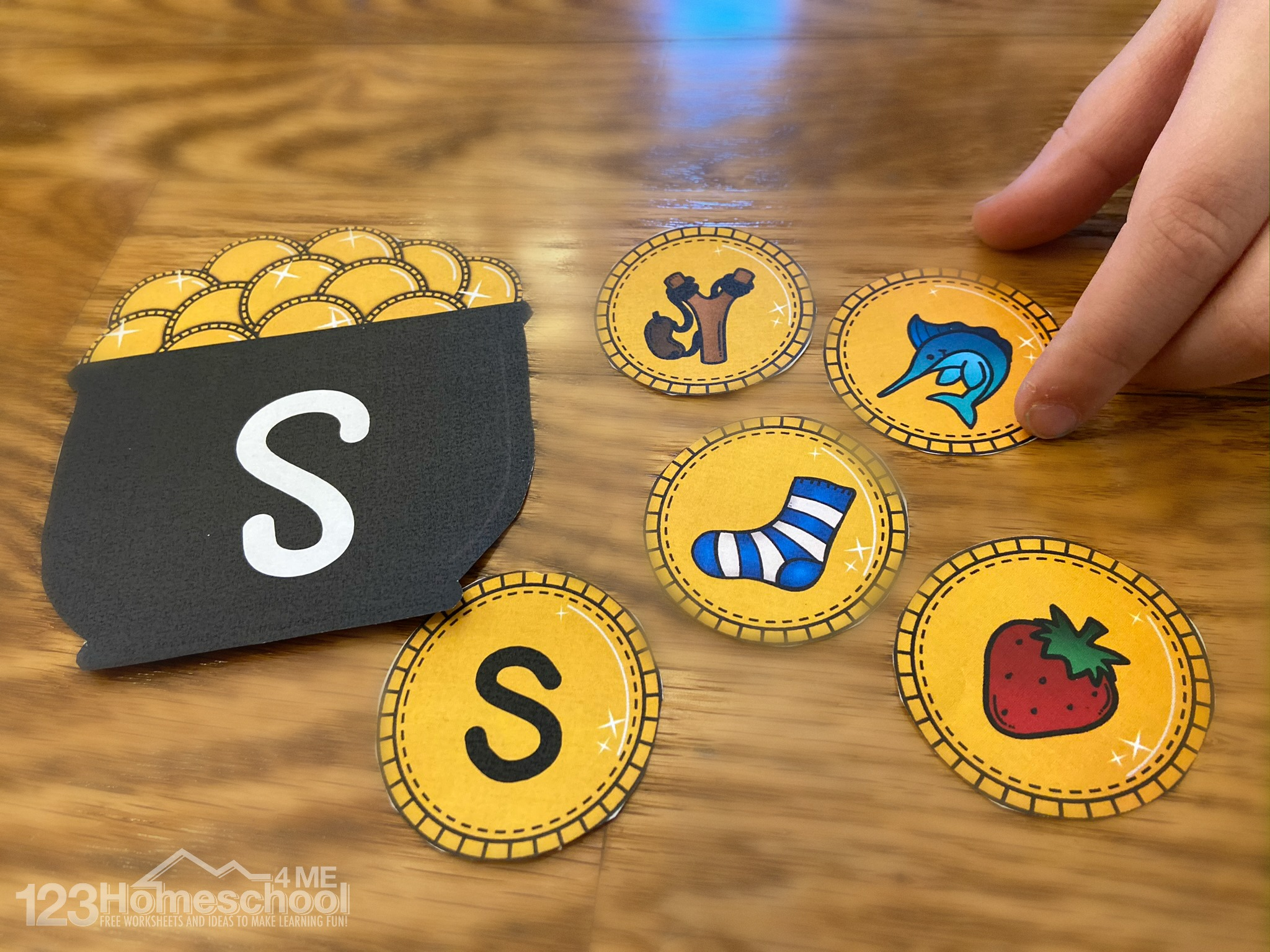 Free Pot Of Gold Letter Sounds Game
