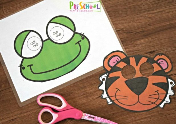 animal masks for kids