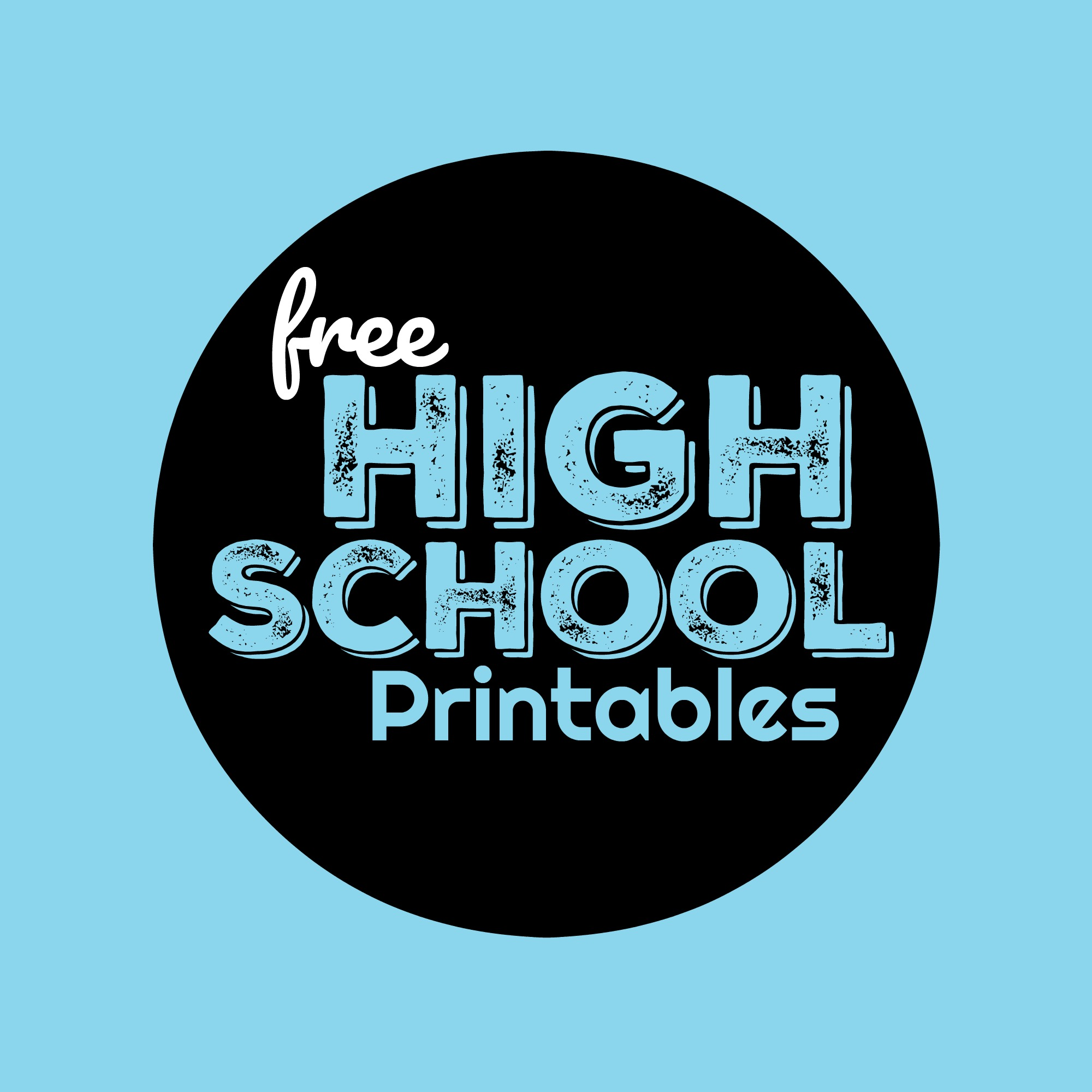 Free High School Worksheets