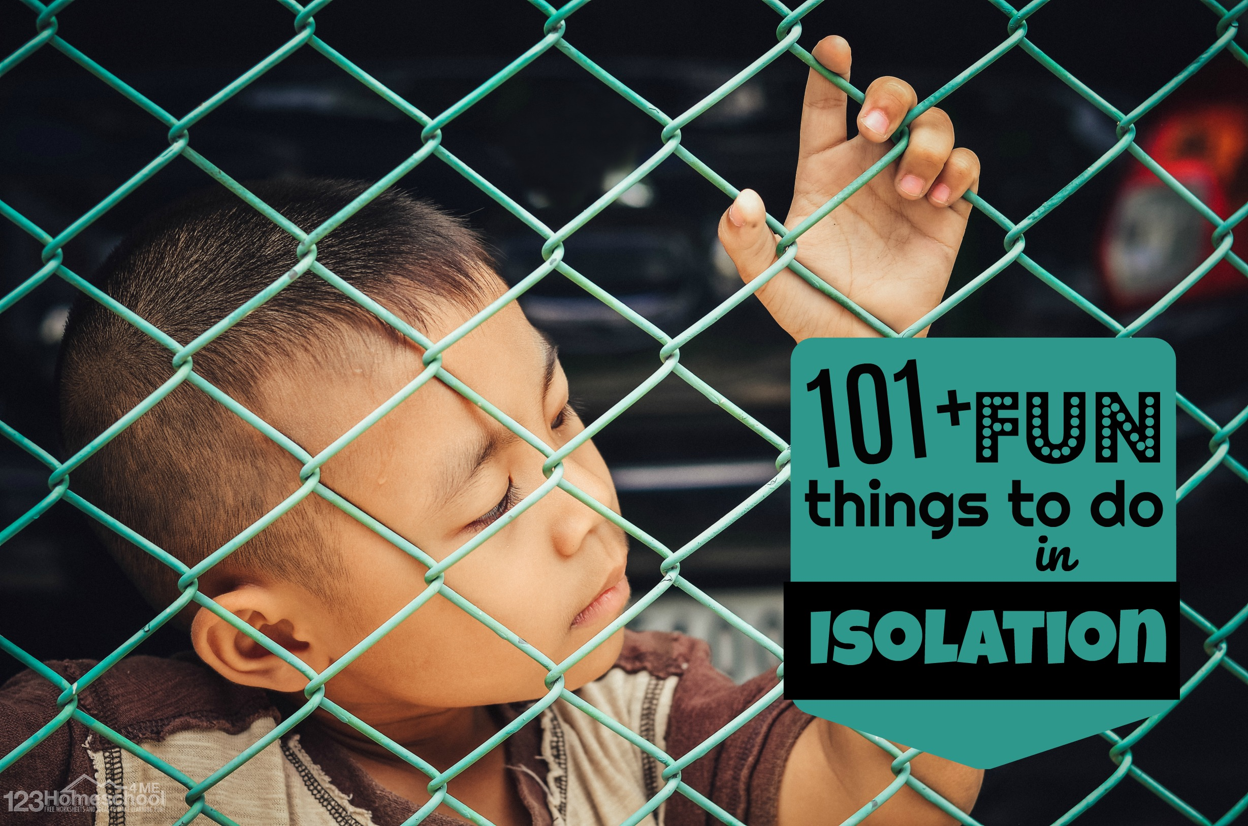 101 Fun Things To Do In Isolation