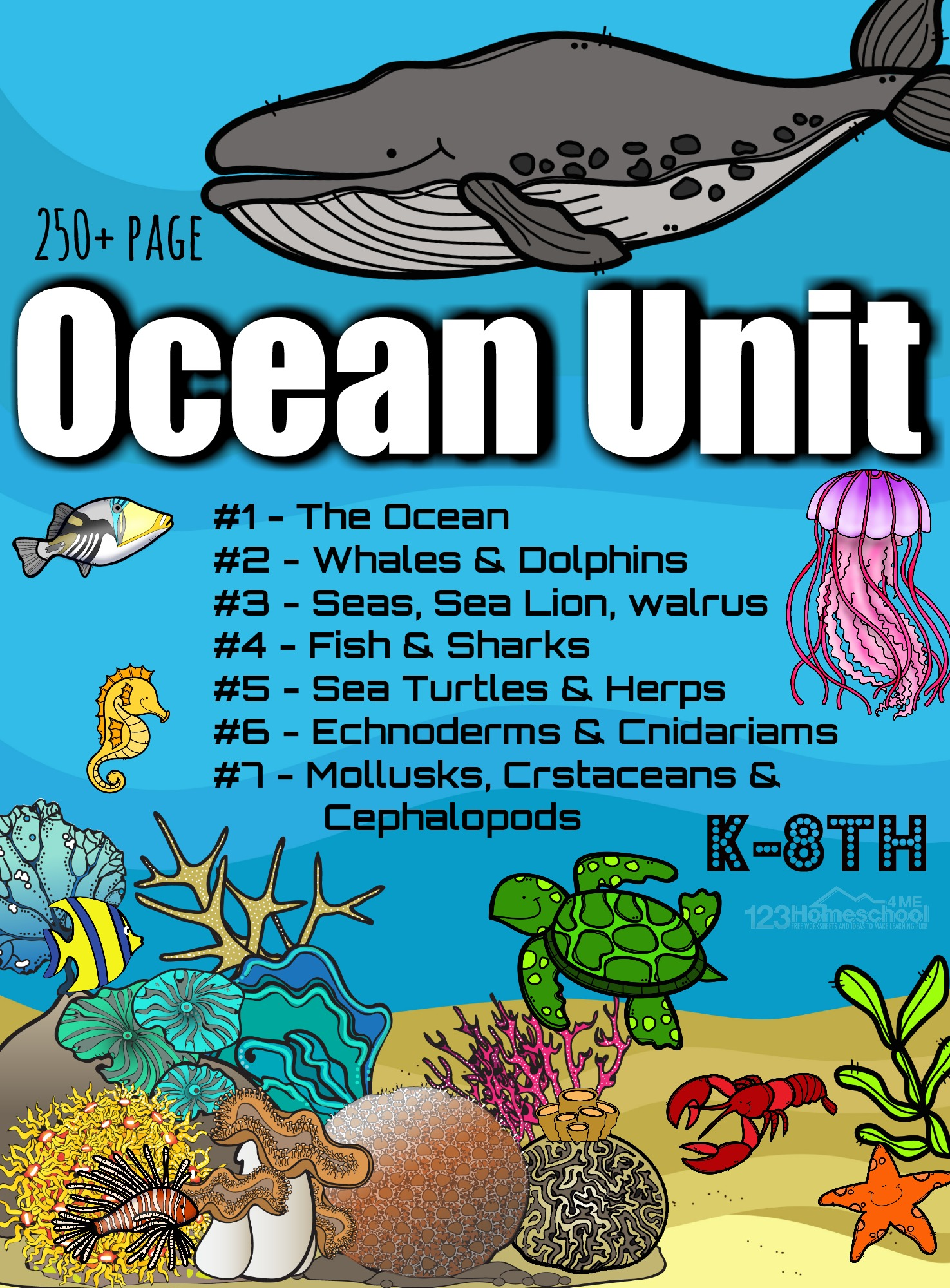 Free Ocean Worksheets For Pre K Kindergarten Grade 1 Amp 2