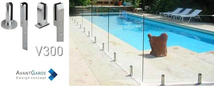 barriere piscine verre cloture