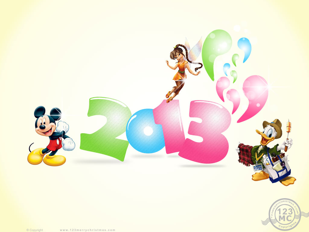 mickey mouse new year wallpapers