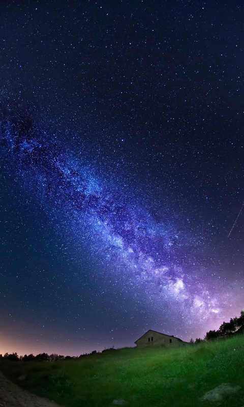 Earth Milky Way Space Wallpaper Pics about space