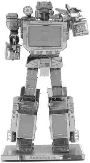 Metal Earth Transformers Soundwave