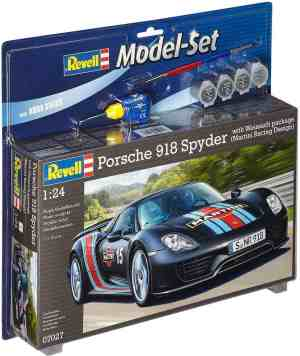 "Model Set Porsche 918 Spyder ""Weissach (Martini Racing Design)"