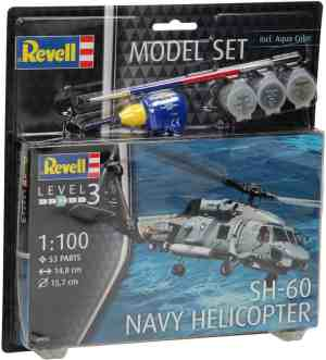 Revell Model Set - SH-60 Navy Helicopter
