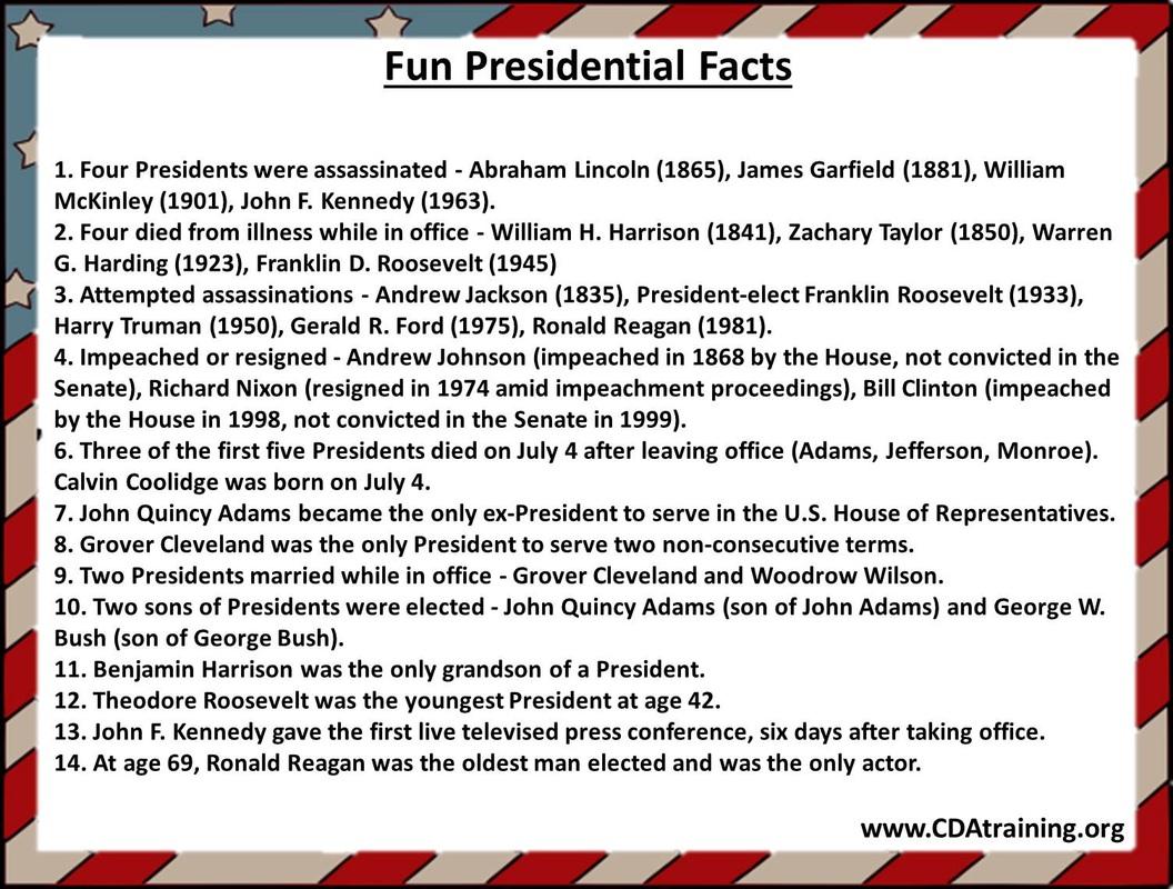 Presidents Day Theme