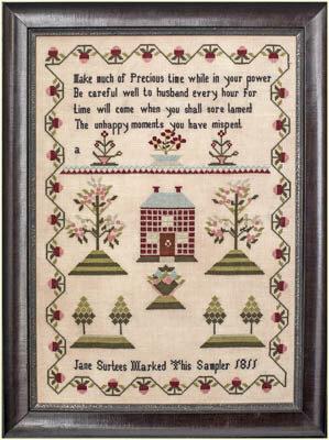 Jane Surtees 1811 - Cross Stitch Pattern