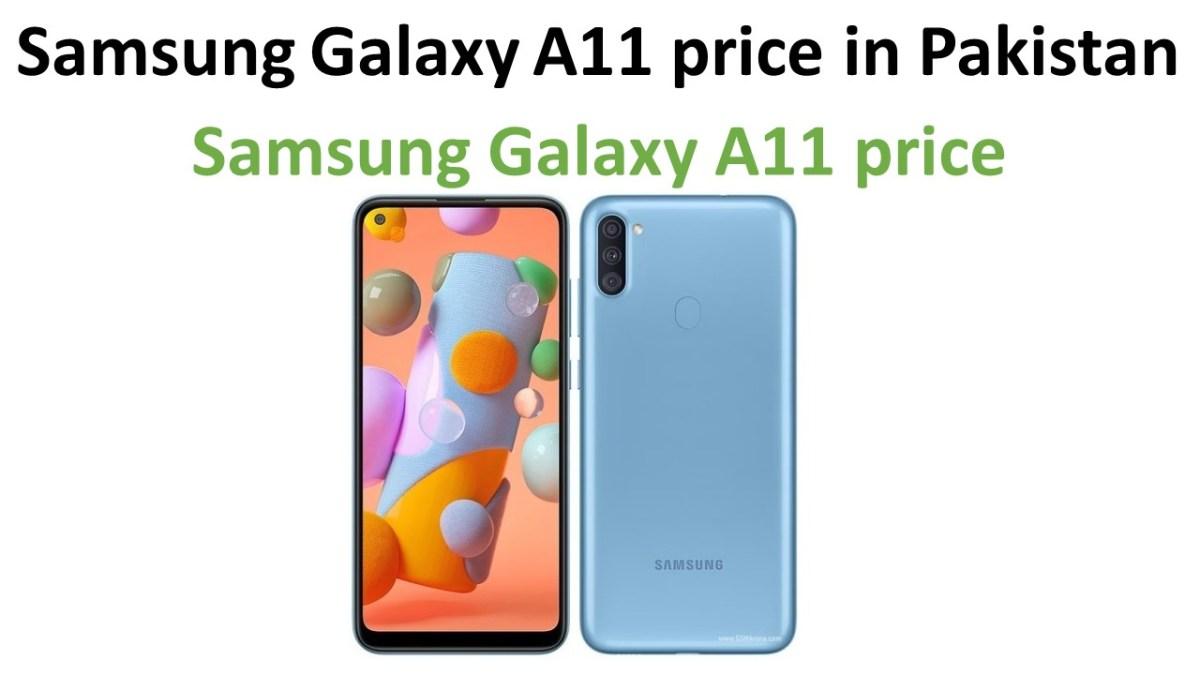 Samsung Galaxy A11 price in Pakistan