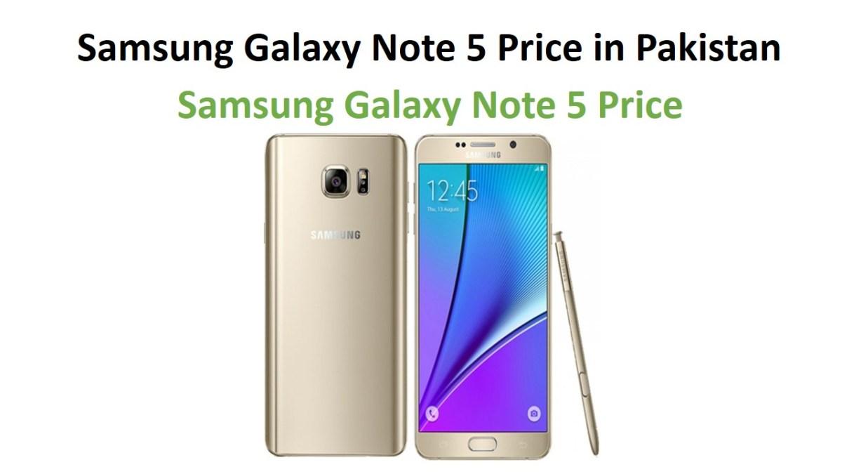 Samsung Galaxy Note 5 Price in Pakistan