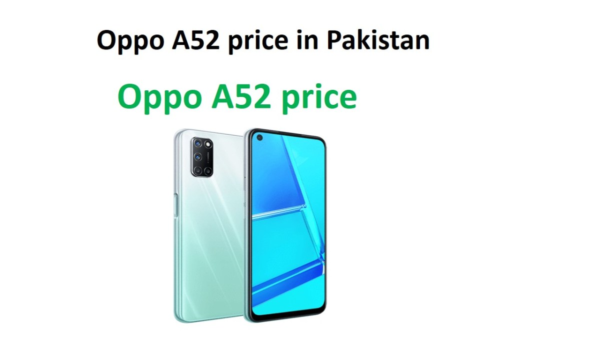 Oppo A52 price in Pakistan