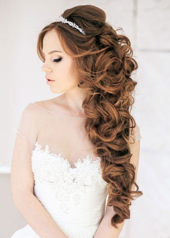 Hairstyle ideas for bride to be