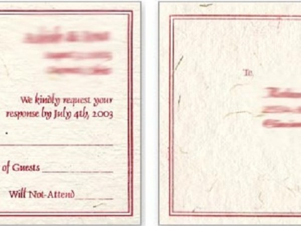 123 Wedding Invitations: Variety Of Unique Wedding Invitations
