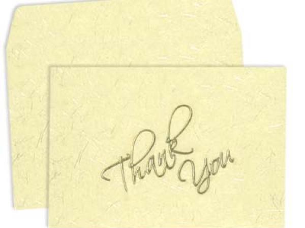 123WeddingCards, Thank You Cards