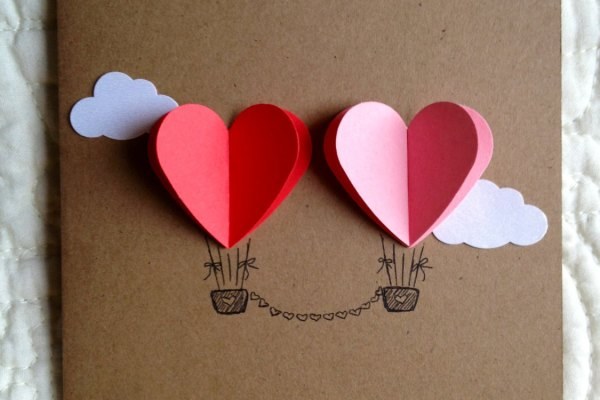 Printable Hot Air Ballon Wedding Invitation
