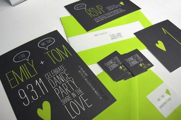 black-and-green-wedding-invitations