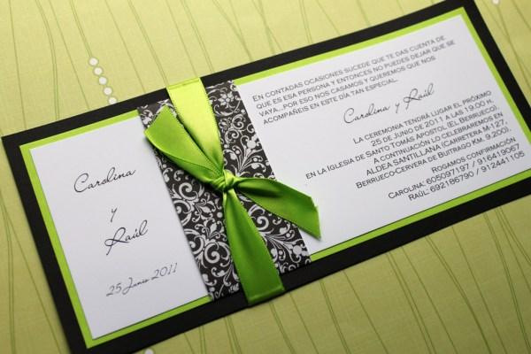 black-and-green-letterpress-invitations