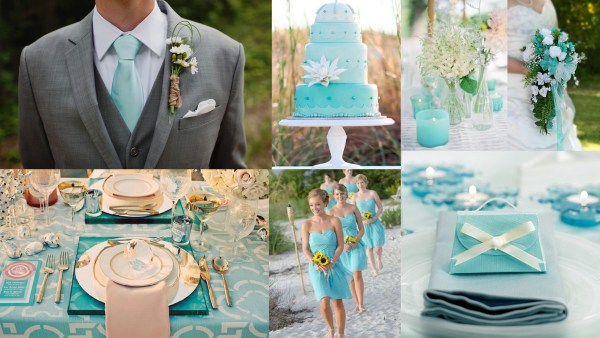 Aquamarine color theme