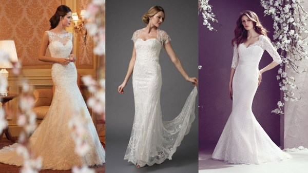 Hourglass Body Shape Wedding Gowns