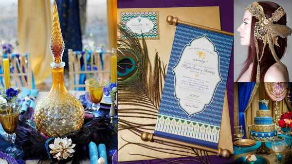 Egyptian Scroll Invitation Ideas