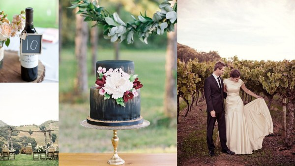 Vineyard wedding theme- 123WeddingCards
