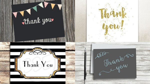 Handwritten Thank You- 123WeddingCards