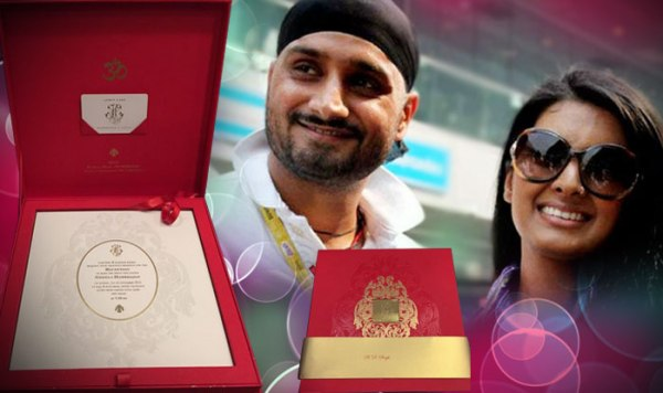 Harbhajan Singh & Geeta Basra's wedding - 123WeddingCards