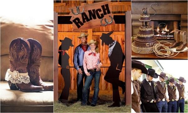 Cowgirl style wedding theme - 123WeddingCards