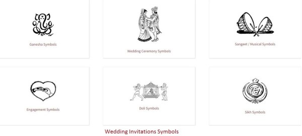 Wedding Invitations Symbols- 123WeddingCards