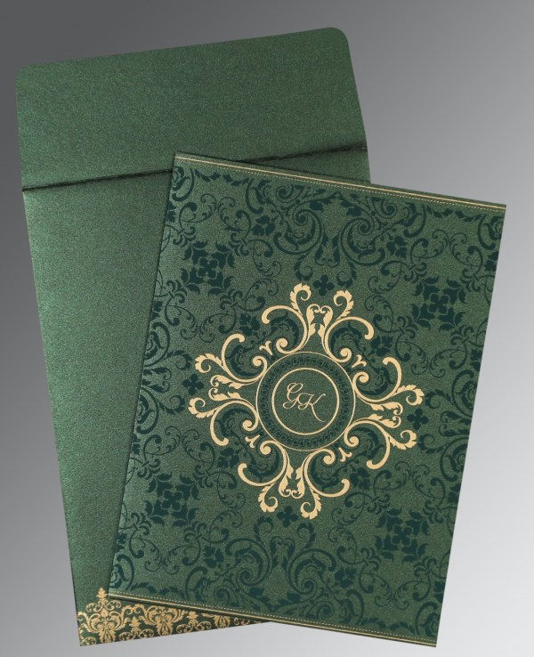 Portray Designed Muslim Wedding Invitations - 123WeddingCards