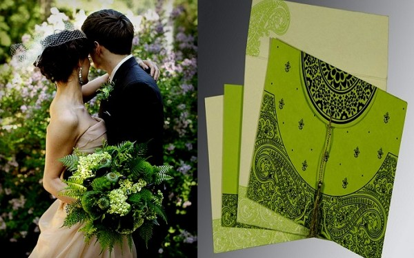 Nature Green Bridal Bouquet - 123WeddingCards