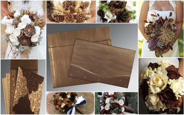 Rustic Bridal Bouquet - 123WeddingCards