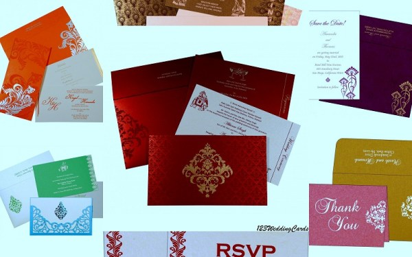 Indian Wedding Cards - 123WeddingCards