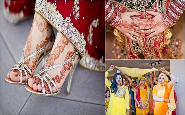 Hindu Muslim Fusion Wedding - 123WeddingCards