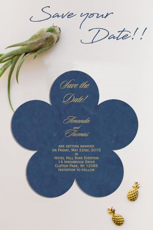 Save The Date - 123WeddingCards