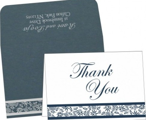Thank You Cards | 123WeddingCards